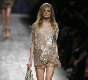 Défilé Valentino - Hanne Gaby Odiele - Paris Printemps Eté 2010