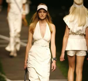Défilé Hermès - Caroline Trentini - Paris Printemps Eté 2010