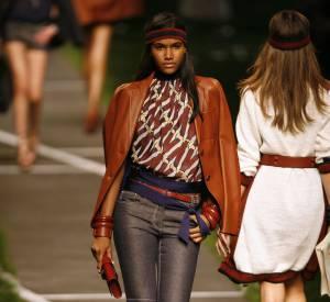 Défilé Hermès - Arlenis Sosa - Paris Printemps Eté 2010
