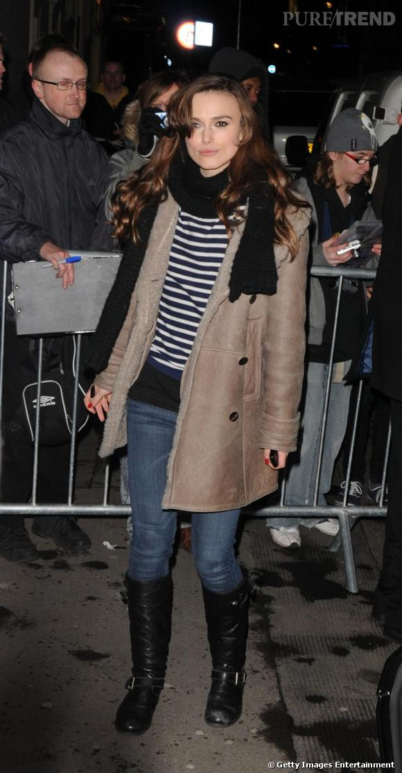 Keira Knightley, ou le look casual chic