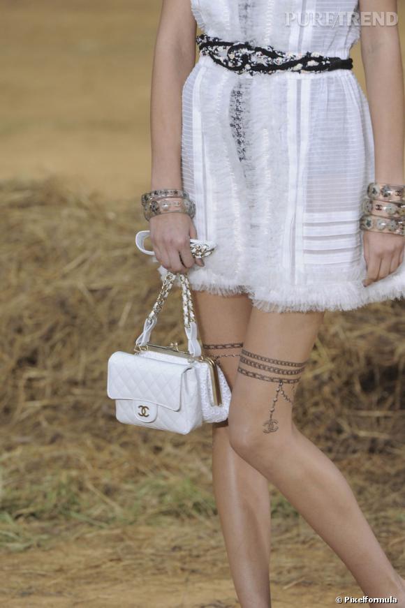Défilé Chanel Printemps Eté 2010