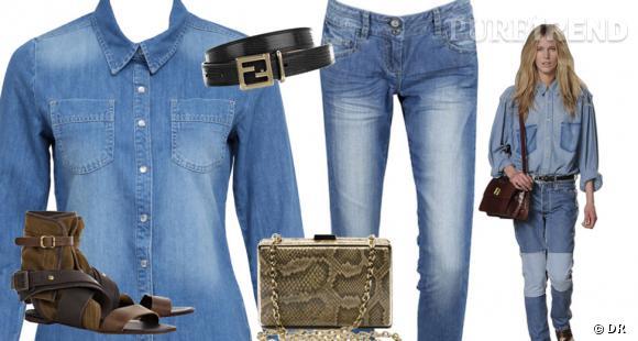 Comment porter la chemise en jean - Comment porter une chemise en jean ...