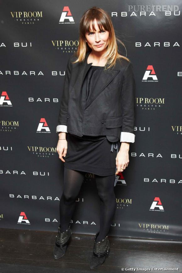 Axelle Laffont lors de la soirée Barbara Bui à Paris
