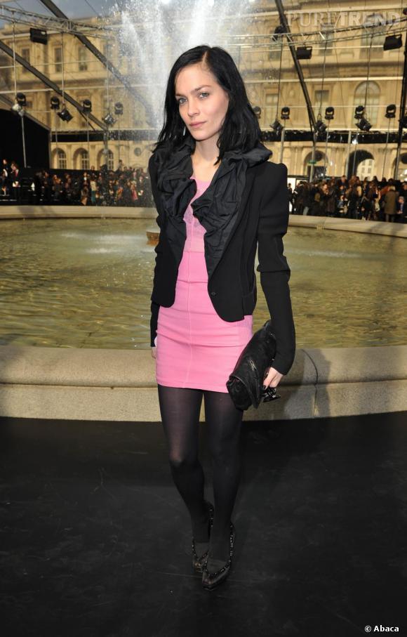 Leigh Lezark lors du défilé Louis Vuitton