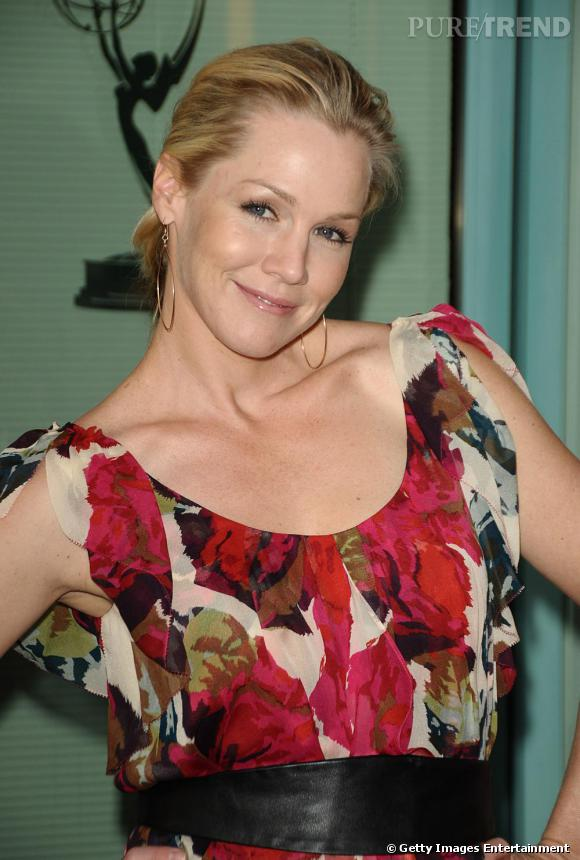 Jennie Garth à Hollywood au show Nurse Jackie