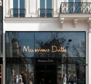 Ouverture d'une boutique prestigieuse sur les Champs-Elysées pour Massimo Dutti