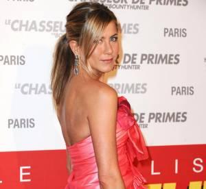 Jennifer Aniston en robe drapée : fausse bonne idée mais véritable flop !