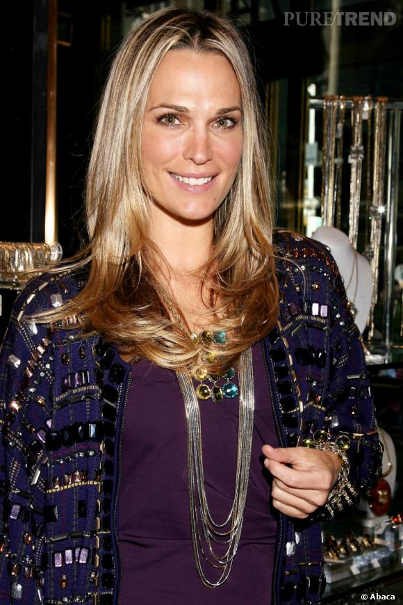 Molly Sims, première fan de ses créations Grayce by Molly Sims
