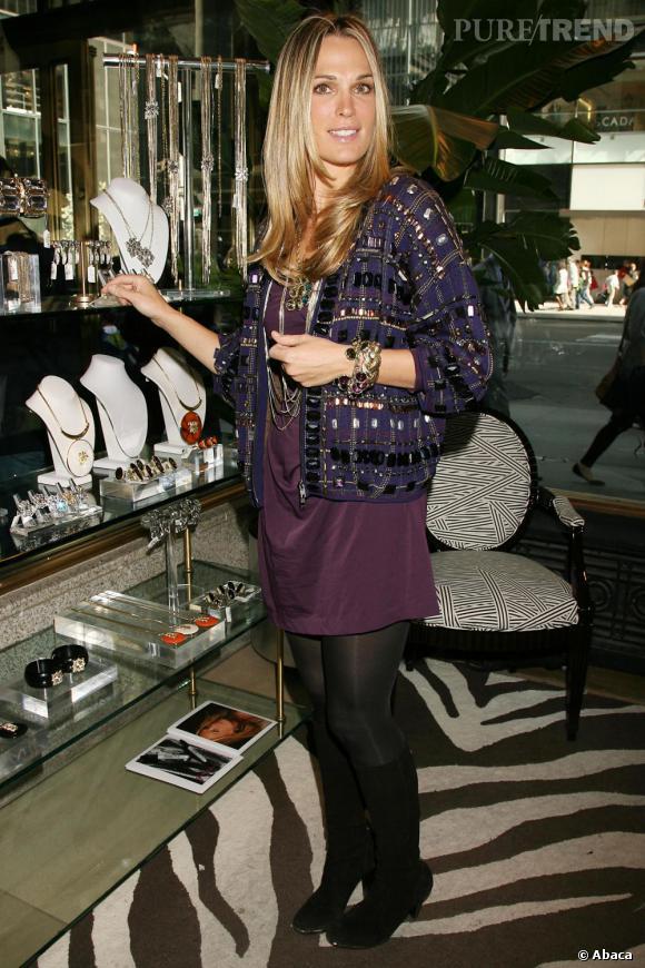 Molly à la boutique Henri Bendel de New-York