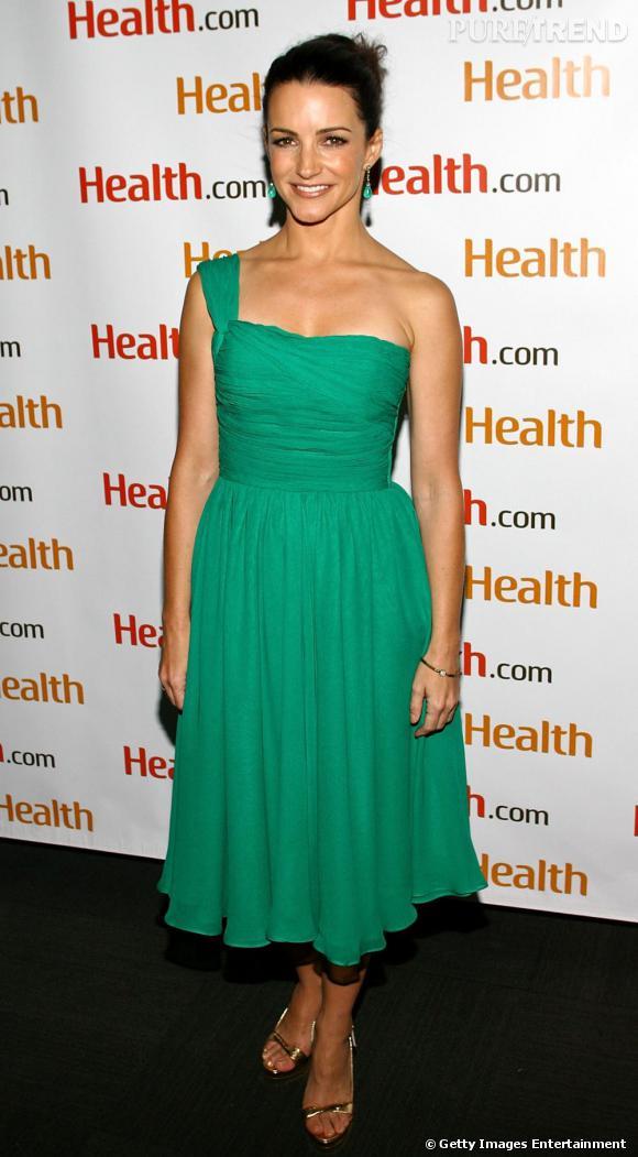 Kristin davis en vert meraude le vert meraude est - Couleur vert emeraude ...