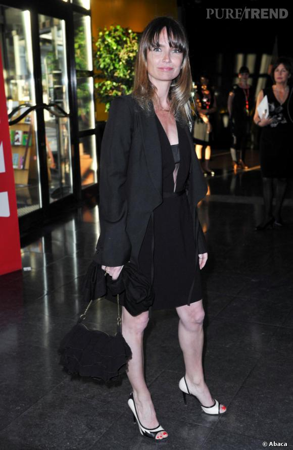 Axelle Laffont lors de la 24e cérémonie des Molières à Paris