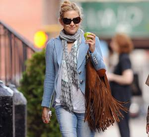 Kate Hudson ose le total look jean