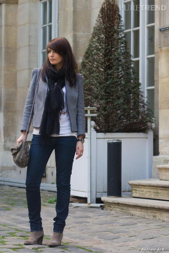 Le look preppy à la parisienne