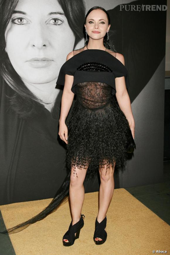 Christina Ricci en robe Givenchy