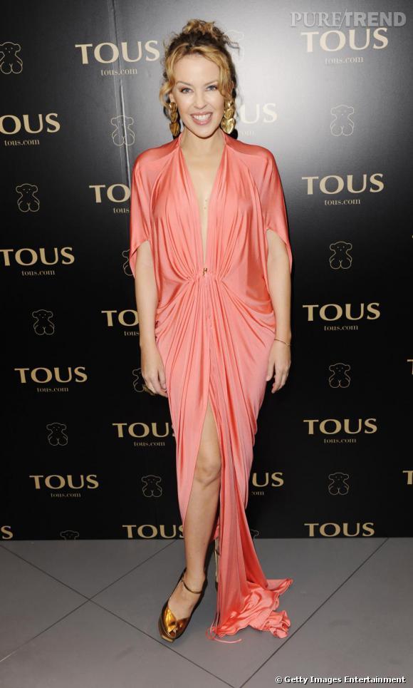 Kylie Minogue lors de la soirée VIP Tous à Londres