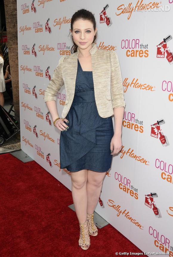 Michelle Trachtenberg au Sally Hansen's Color That Cares Event à Hollywood