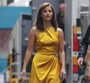 Natalie Imbruglia à Melbourne se rend sur le tournage de X factor dont elle est membre du jury.