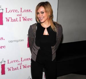 Hilary Duff, une veste pas très glamour