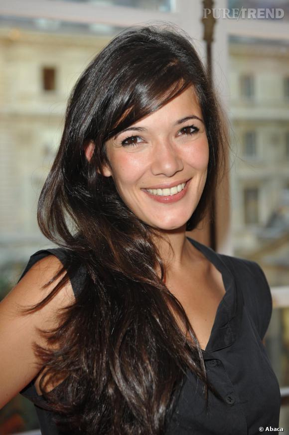 Mélanie Doutey à la soirée d'inauguration de la nouvelle boutique Lyubov à Paris