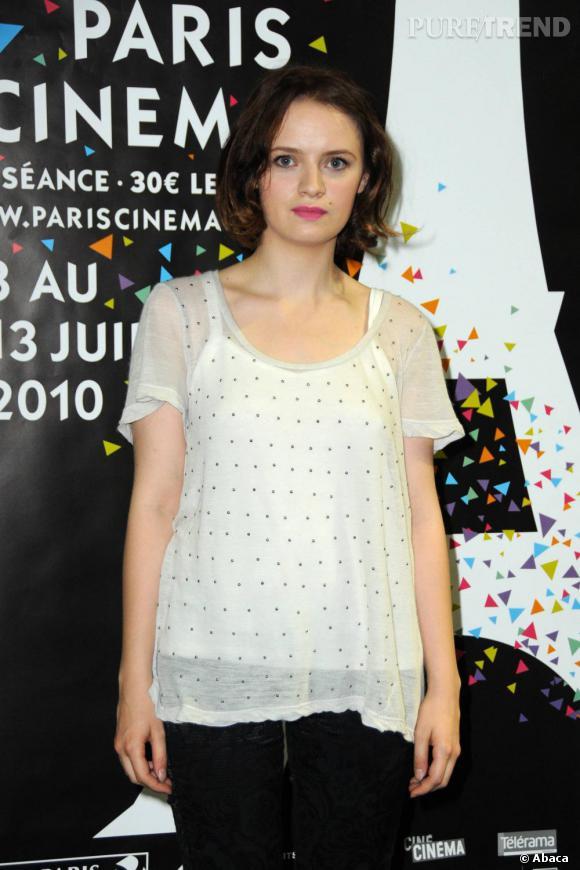 Sara Forestier lors de la première du film Le Nom des gens.