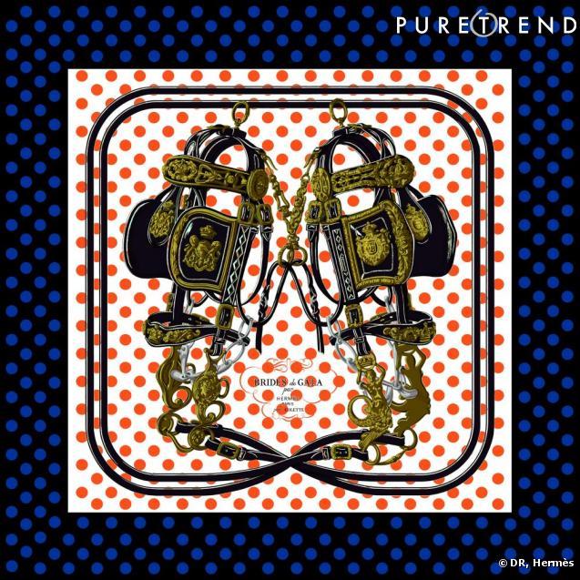 """Collection """"J'aime mon carré"""" d'Hermès"""