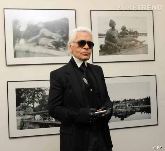 Un vernissage avec karl karl lagerfeld expose ses photographies la maison europ enne de la - Linge de maison karl lagerfeld ...