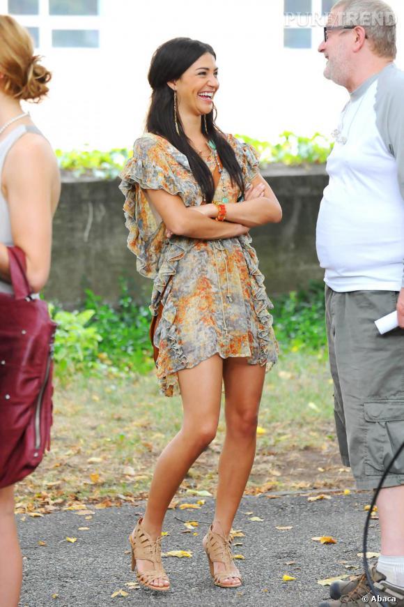 Quelque soit leur rôle dans la série, les actrices de Gossip Girl offrent toutes un perpétuel défilé de mode à l'image de Jessica Szohr.