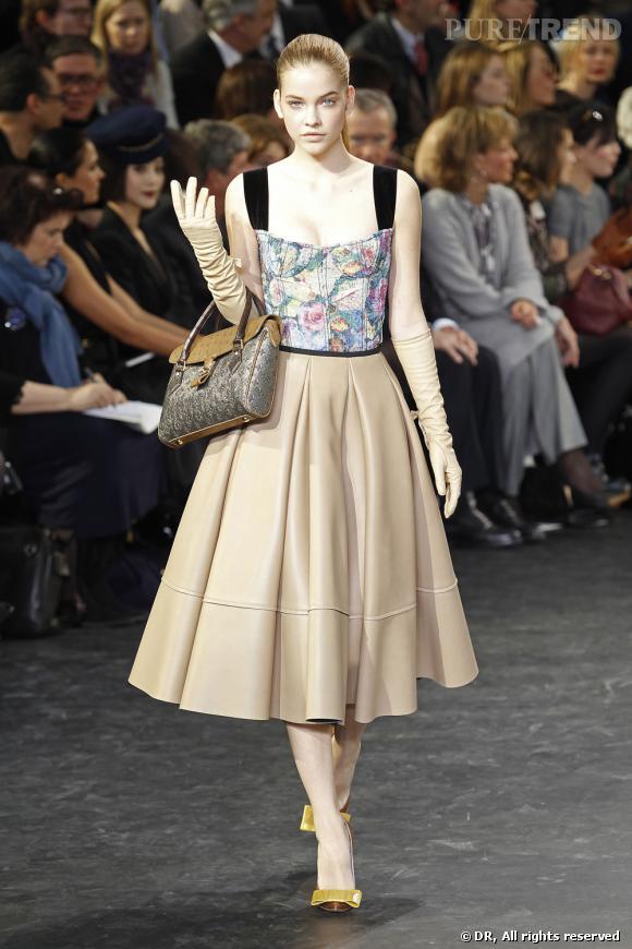 Défilé Louis Vuitton, Automne Hiver 2010-2011.