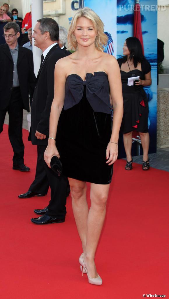 Virginie Efira à la cérémonie d'ouverture du 36ème festival du film de Deauville, France.
