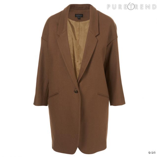 un manteau d 39 homme camel ou marron clair le manteau d 39 homme ajust remplacera la doudoune l. Black Bedroom Furniture Sets. Home Design Ideas