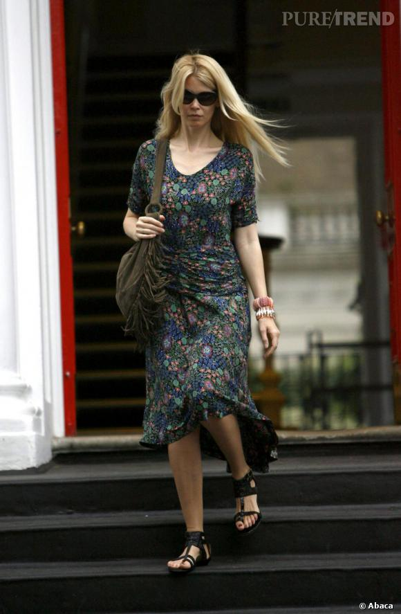 Claudia Schiffer à Londres