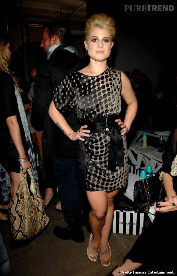 Kelly Osbourne au défilé Elise Overland.