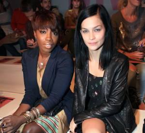Estelle et Leigh Lezark au défilé DKNY.