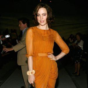 Melissa George au défilé J. Mendel.