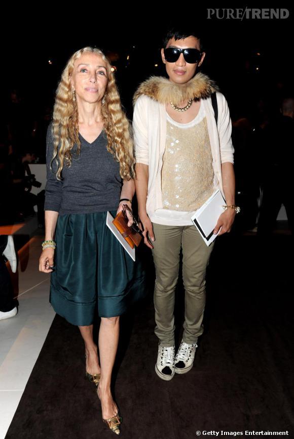Franca Sozzani et BryanBoy chez Gucci.