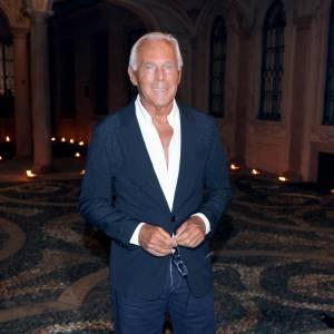 Giorgio Armani à la soirée Who's Next ?