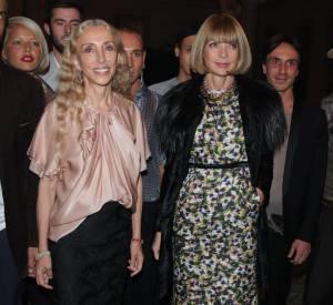Franca Sozzani et Anna Wintour lors de la soirée Who's Next ?