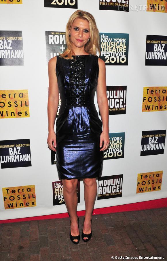 Claire Danes lors du New-York Musical Theatre Festival 2010.