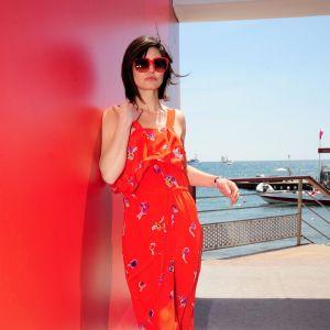 Pour le dernier Festival de Cannes, Delphine Chanéac avait elle aussi opté pour la combinaison orange.