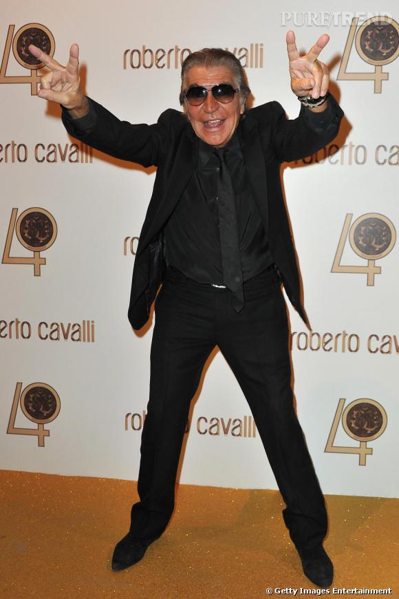Le roi de la soirée, Roberto Cavalli.