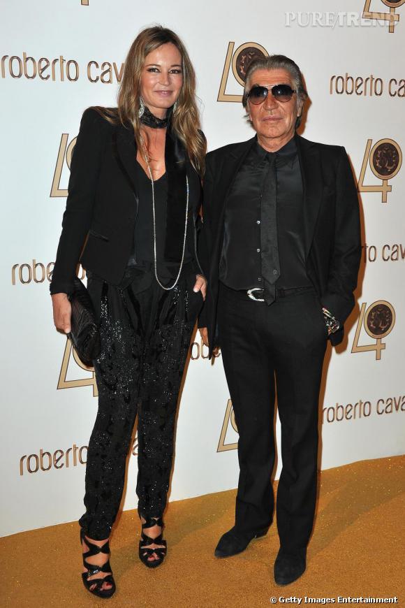 Eva et Roberto Cavalli.