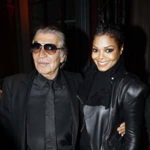 Roberto Cavalli et Janet Jackson.