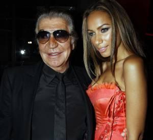 Roberto Cavalli et Leona Lewis.