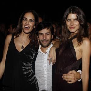 Eugenia Silva et Alexis Mabille chez Roberto Cavalli.