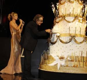 Heidi Klum et Roberto Cavalli.