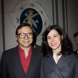 Bertrand Burgalat et Vanessa Seward à la Maison Darré.