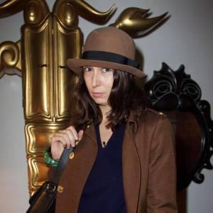 Camille Bidault Waddington à la Maison Darré.