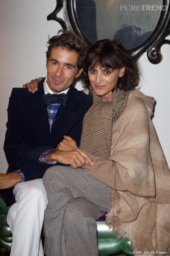 Vincent Darré et Ines de la Fressange à la Maison Darré.