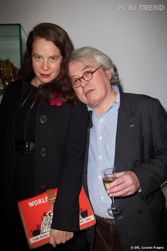 Olympia et Pierre Le-Tan à la Maison Darré.