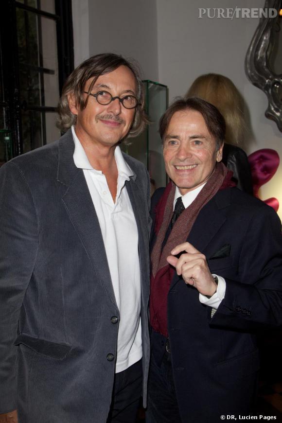 Pierre Passebon et Marcial Berro à la Maison Darré.